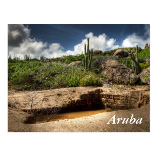 Aruba, the golden rush is over postcard
