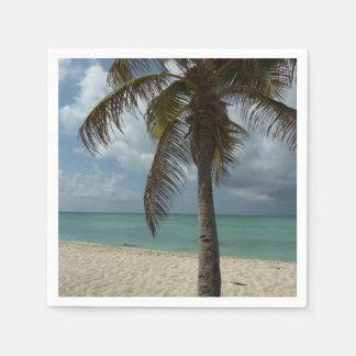 Aruban Beach I Beautiful Nature Scene Paper Napkins