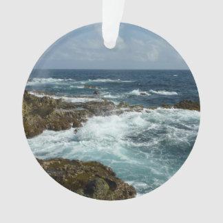 Aruba's Rocky Coast Ornament