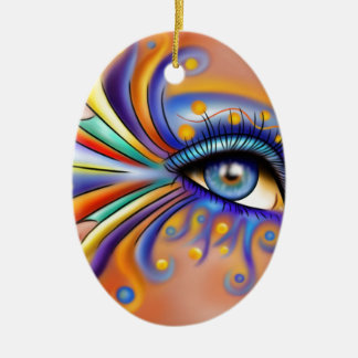 Arubissina V1 - fish eye Ceramic Ornament