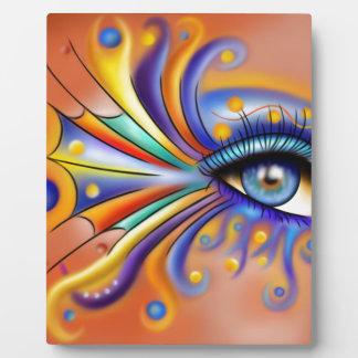 Arubissina V1 - fish eye Display Plaque