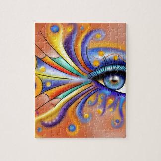 Arubissina V1 - fish eye Jigsaw Puzzle