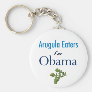 Arugula Eaters for Obama Keychain