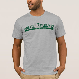 Arugula Farmers For Obama T-Shirt