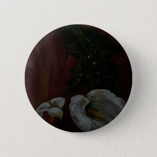 Arum Lilies 1 6 Cm Round Badge