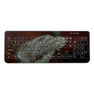 Arum Lilies 2 Wireless Keyboard
