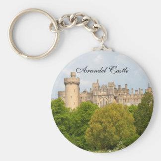 Arundel Castle historic photo custom keychain