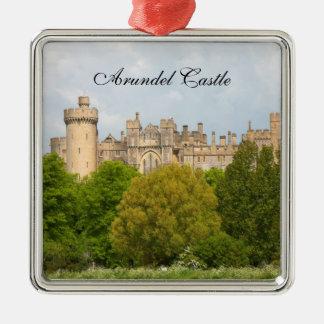 Arundel Castle historic photo custom ornament