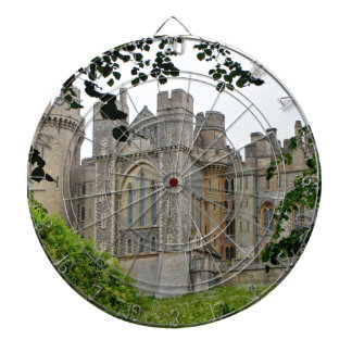 Arundel Castle, West Sussex, England Dartboard