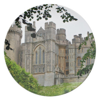 Arundel Castle, West Sussex, England Plate