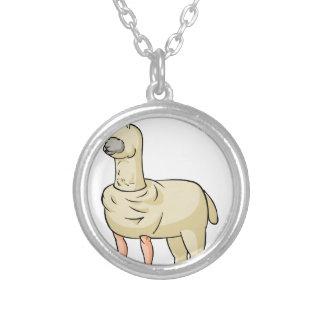 arupa ri yo ku English story Nasu Plateau Tochigi Silver Plated Necklace