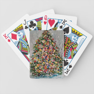ARVORE DE NATAL BICYCLE PLAYING CARDS