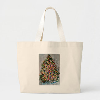 ARVORE DE NATAL LARGE TOTE BAG