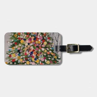 ARVORE DE NATAL LUGGAGE TAG