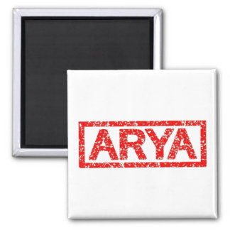 Arya Stamp Square Magnet