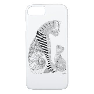 As a cat tender mother iPhone 7 case