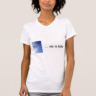 as a kite ladies t tshirts