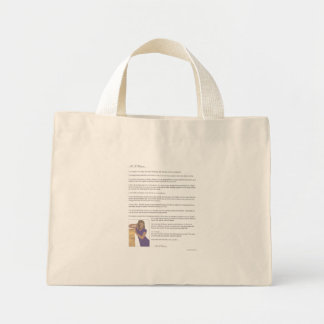 As A Woman Mini Tote Bag