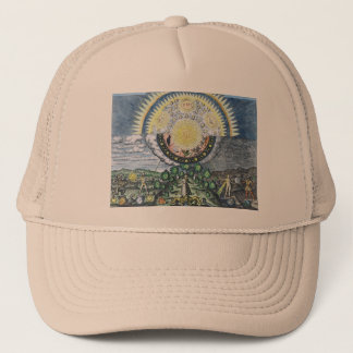 As Above, So Below Alchemy Shirt Trucker Hat