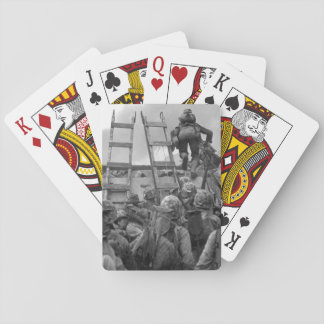 """As against """"The Shores of Tripoli_War Image Poker Deck"""