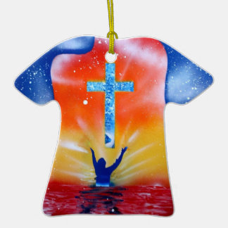 As and yea shall receive spray paint painting ceramic T-Shirt decoration