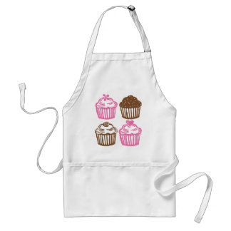 AS Apron Pink Cupcakes