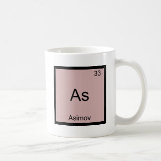 As - Asimov Funny Chemistry Element Symbol Tee Coffee Mug