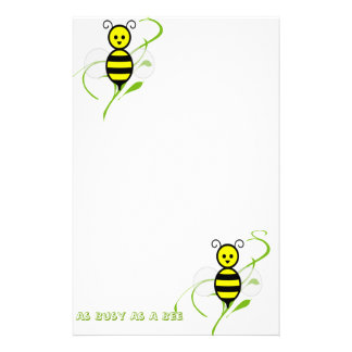 As Busy As A Bee Stationery