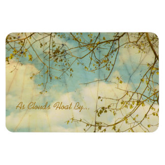 As Clouds Float By Magnet