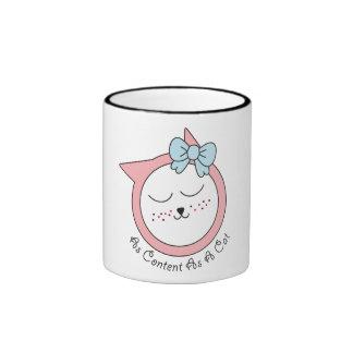 As Content As A Cat Mug