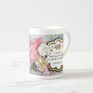 """As For Me & My Household, We Shall Serve Jehovah"" Tea Cup"