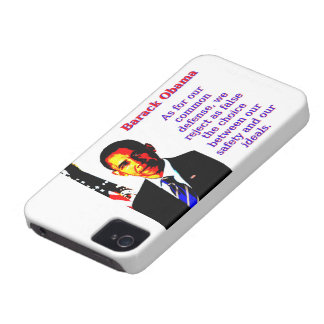 As For Our Common Defense - Barack Obama Case-Mate iPhone 4 Cases
