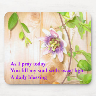 As I Pray Today Mouse Pad