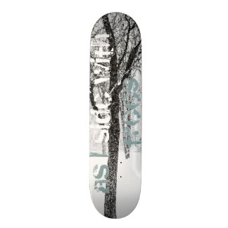 as I side with trees 19.7 Cm Skateboard Deck