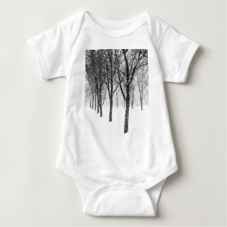 as I side with trees Baby Bodysuit