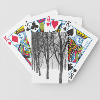 as I side with trees Bicycle Playing Cards