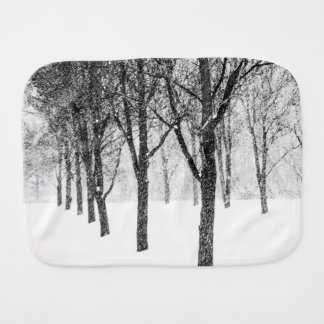 as I side with trees Burp Cloth