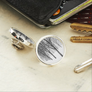 as I side with trees Lapel Pin