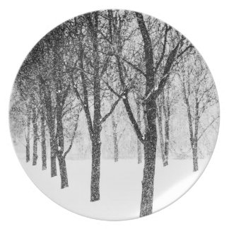 as I side with trees Plate