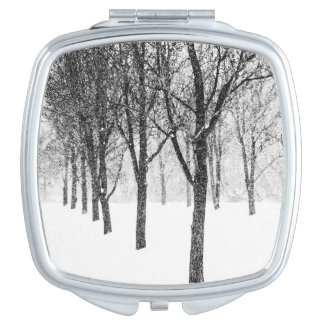 as I side with trees Vanity Mirror