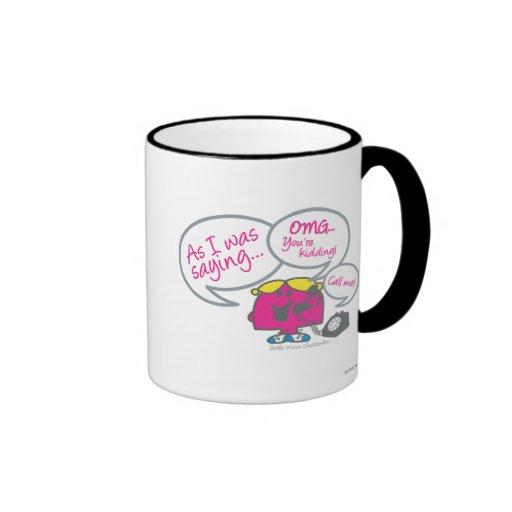As I Was Saying... Mug