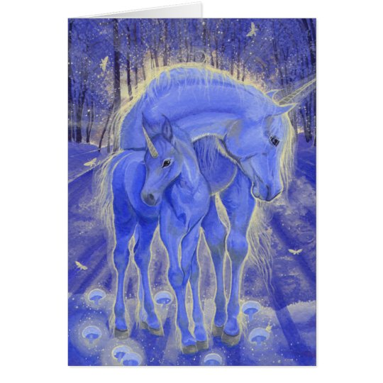 """As If By Magic"" Unicorn Greeting Card"