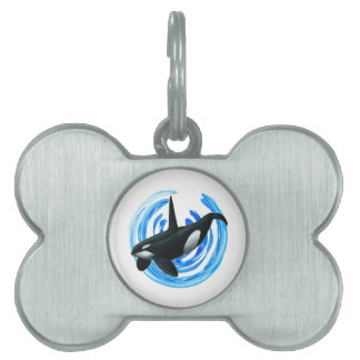 AS IT DESCENDS PET NAME TAG