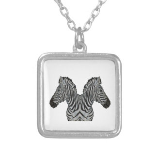 AS IT NEARS SILVER PLATED NECKLACE
