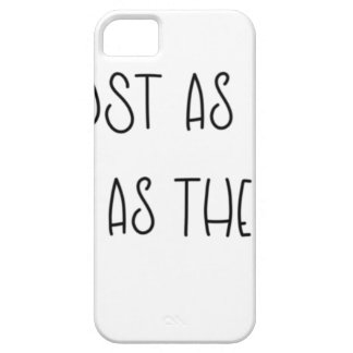 AS LOST AS ALICE AS MAD AS THE HATTER iPhone 5 COVER