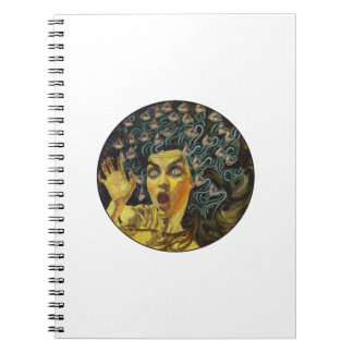 AS MEDUSA IS SPIRAL NOTEBOOK
