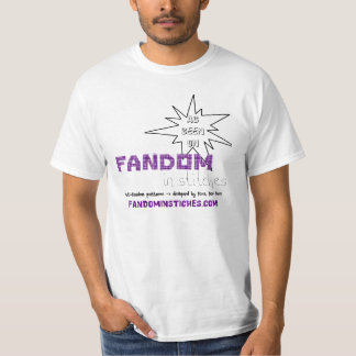 As Seen On Fandom In Stitches T-Shirt