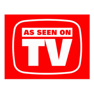 As Seen on TV Postcard