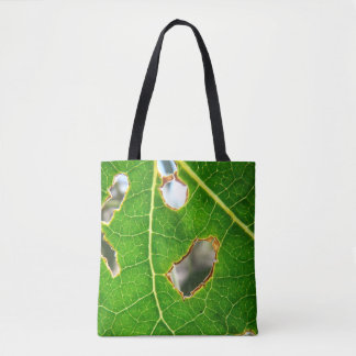 As Seen Through A Leaf Tote Bag