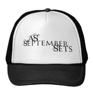As September Sets Hat
